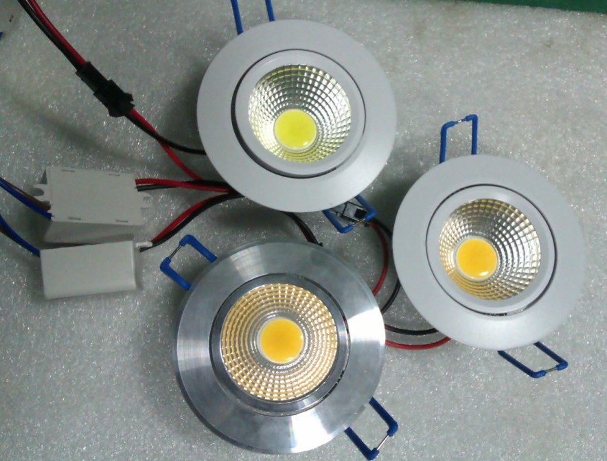 COB-5W LED 2Inch Recessed Downlight